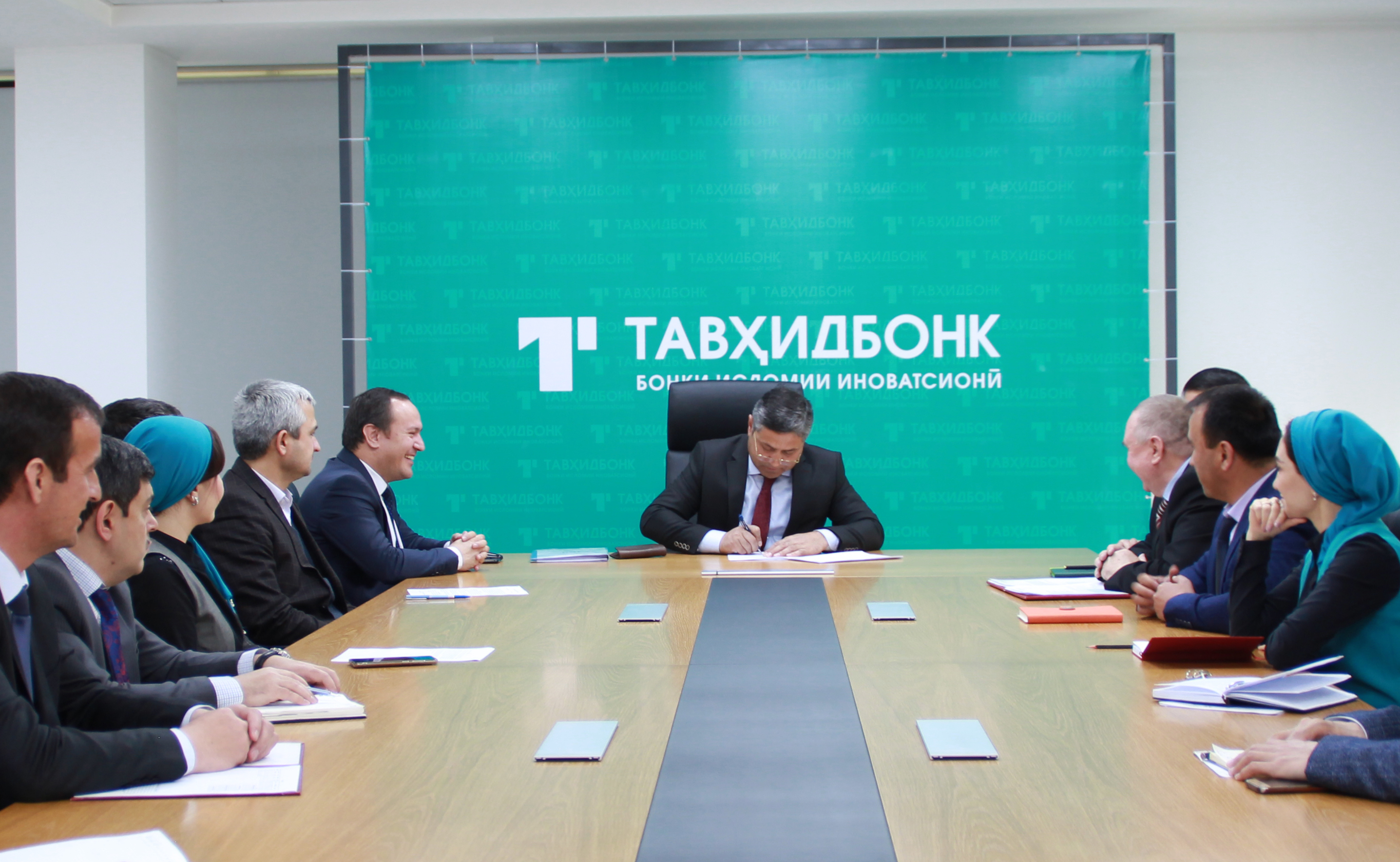 Has been signed  Memorandum of Understanding between Islamic Development Bank and Tawhidbank of the Republic of Tajikistan concerning Cooperation on Development of Economic Empowerment in the Republic of Tajikistan.